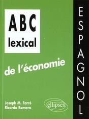 Abc Lexical De L'Economie Espagnol - Intérieur - Format classique