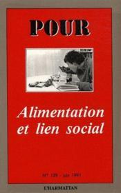 Alimentation et lien social - Couverture - Format classique