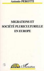 Migrations Et Societe Pluriculturelle En Europe - Intérieur - Format classique