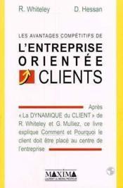 Les Avantages Competitifs De L'Entreprise Orientee Clients - Couverture - Format classique