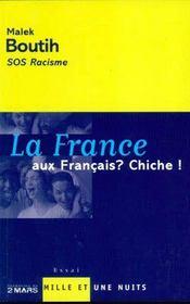 La France Aux Francais ? Chiche ! - Intérieur - Format classique