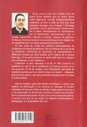 Je gueris donc je suis ; theologie guerriso - 4ème de couverture - Format classique