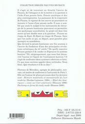 Kant Et Picasso Le Bordel Philosophique - 4ème de couverture - Format classique