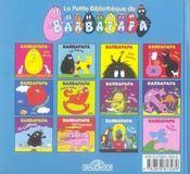 Barbapapa ; le cheval - 4ème de couverture - Format classique