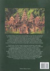 Angkor, cité khmère - 4ème de couverture - Format classique