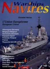 Navires de guerre europeens - Couverture - Format classique