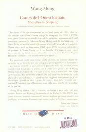 Contes De L'Ouest Lointain ; Oh Mohammed Ahmed ; Le Genie Du Vin ; La Petite Maison De Pise - 4ème de couverture - Format classique