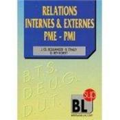 Relations internes et externes des pme-pmi - Couverture - Format classique