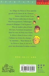 Le commando des pieces-a-trous - 4ème de couverture - Format classique