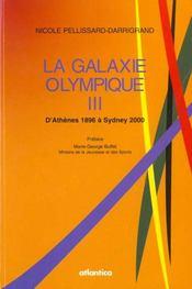 La galaxie olympique iii ; d'athene 1896 a syney 2000 - Intérieur - Format classique
