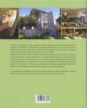Maisons De Campagne - 4ème de couverture - Format classique