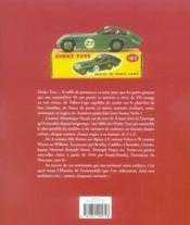 Les dinky toys - 4ème de couverture - Format classique