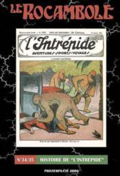 Revue Rocambole N.34-35 ; Histoire De L'Intrépide - Couverture - Format classique