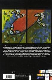 L'oeil, la vue, le regard. la création littéraire et artistique - 4ème de couverture - Format classique