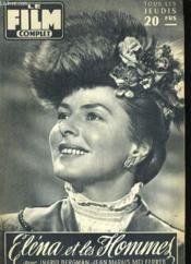 Film Complet N° 594 - Elena Et Les Hommes - Couverture - Format classique