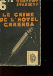 Le Crime De L'Hotel Granada - The Great Hotel Murder - Couverture - Format classique
