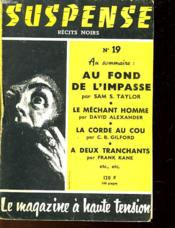 Suspense N°19 - Couverture - Format classique