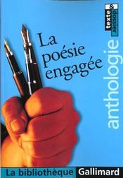 Vente  La poesie engagee  - Collectifs Gallimard - Collectif Gallimard - Bruno Doucey