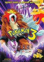 Pokémon 3 - Le Monde Des Zarbi - Couverture - Format classique