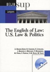 Vente  The english of law : us law & politics  - Collectif