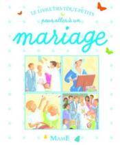 Mon Livre Pour Aller A Un Mariage - Couverture - Format classique