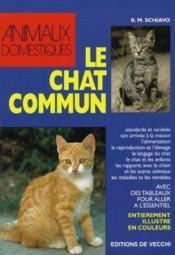 Le Chat Commun - Couverture - Format classique