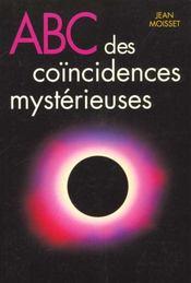 Abc Des Coincidences Mysterieuses - Intérieur - Format classique