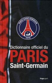 Dictionnaire officiel du Paris Saint-Germain - Intérieur - Format classique