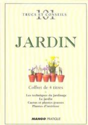 Coffret jardin - Couverture - Format classique