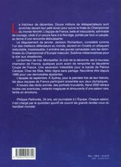 Hand 2000 - 4ème de couverture - Format classique