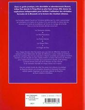 Feng Shui Formules Pour La Reussite - 4ème de couverture - Format classique