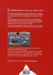 Cervin, top model des Alpes - 4ème de couverture - Format classique
