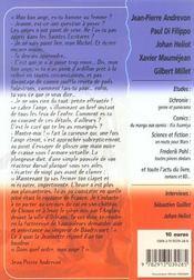 Revue Bifrost N.34 ; Spécial Uchronie - 4ème de couverture - Format classique