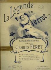 La Legende De Pierrot - Piano. - Couverture - Format classique