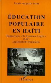 Education Populaire (Joint)En Haiti. Rapport Des Ti Ko - Couverture - Format classique