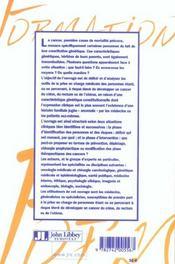 Predisposition Heriditaire Aux Cancer: Colon, Rectum,Uterus - 4ème de couverture - Format classique