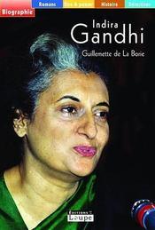 Indira Gandhi - Intérieur - Format classique