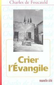 Crier L'Evangile - Intérieur - Format classique