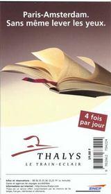 Amsterdam, Esacapades En Hollande 1998-1999, Le Petit Fute (Edition 1) - 4ème de couverture - Format classique