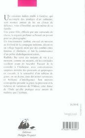 Le Cuisinier, La Belle Et Les Dormeurs - 4ème de couverture - Format classique