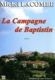 La campagne de Baptistin - Couverture - Format classique