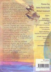 Revue Bifrost N.35 ; Aventures Spatiales - 4ème de couverture - Format classique