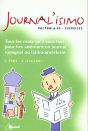 Vente livre :  Journal issimo (vocabulaire+exercices)  - Guilldou
