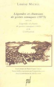 Legendes Et Chansons De Gestes Canaques - Intérieur - Format classique