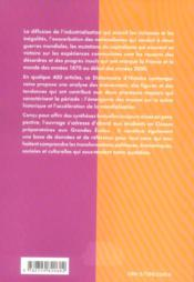 Dictionnaire D'Histoire Contemporaine (1870-2001) Comprendre Le Siecle Des Masses - 4ème de couverture - Format classique