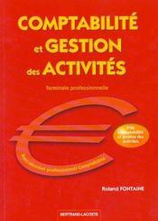 Comptabilite Et Gestion Des Activites - Intérieur - Format classique