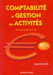 Comptabilite Et Gestion Des Activites - Couverture - Format classique