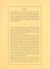 Les Mots De Balzac - 4ème de couverture - Format classique