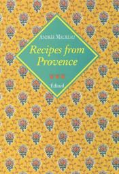 Recipes from provence voyages gourmands - Couverture - Format classique