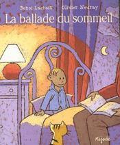 La ballade du sommeil - Intérieur - Format classique